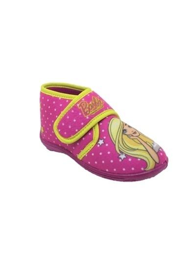 Gigi Gigi 92312 Barbie Baskılı Kız Çocuk Panduf Pembe